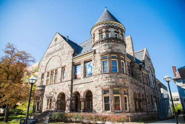 Historic stone house in Ann Arbor, Michigan