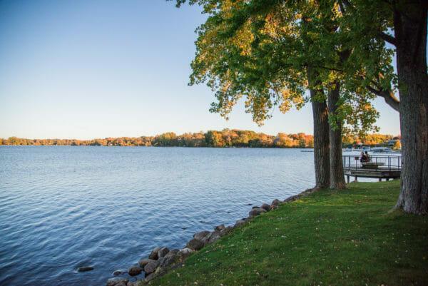 Reeds Lake in Grand Rapids, MI