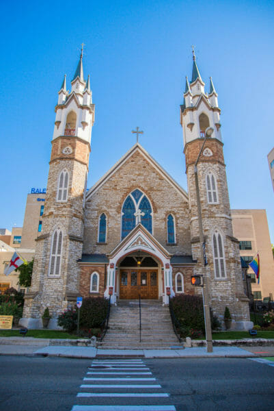 Historic cathedral in Grand Rapids, MI