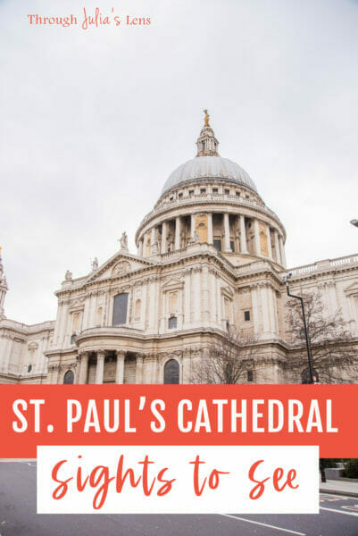 St. Paul's Cathedral Tour: A Must-See in London