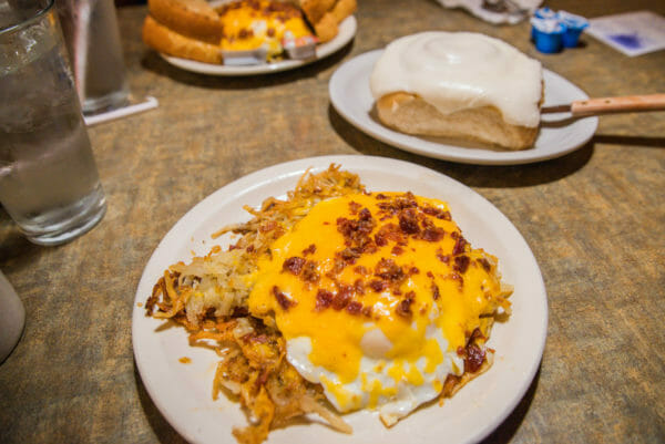 Breakfast at the Windmill Cafe in Holland, Michigan