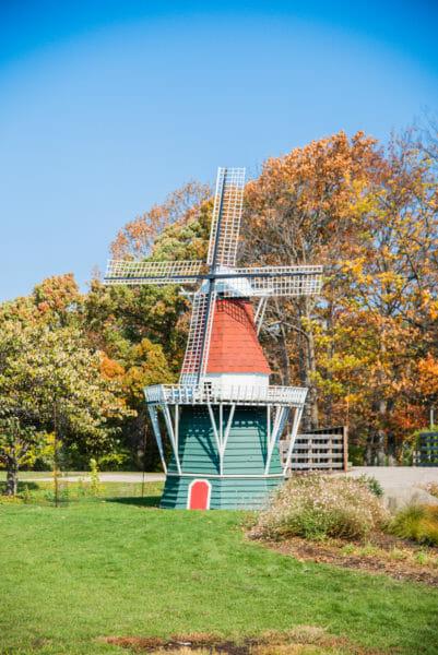 Windmill in Windmill Island Gardens