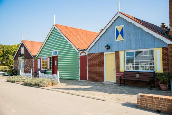 Dutch buildings in Windmill Island Gardens